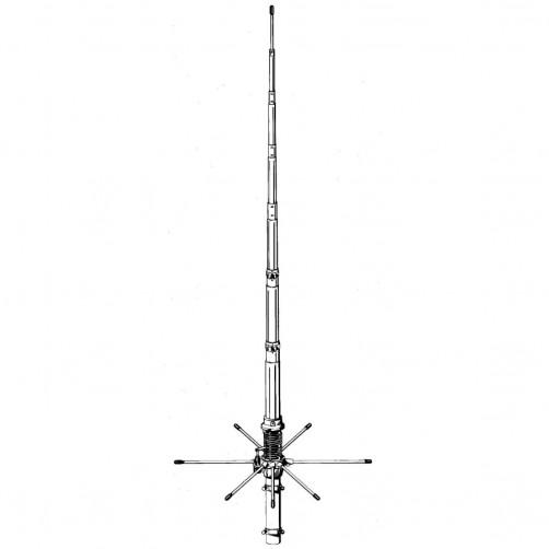 Sirio 827 CBАнтенна стационарная / базовая Си-Би 27 МГц