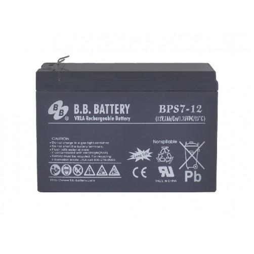 B.B.Battery BPS 7-12 Аккумуляторная батарея