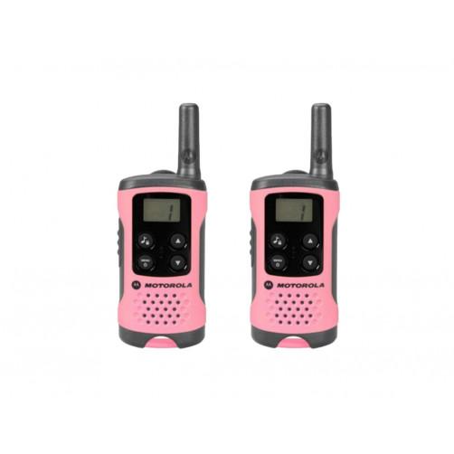 Motorola TLKR T41 pink PMR Безлицензионная радиостанция