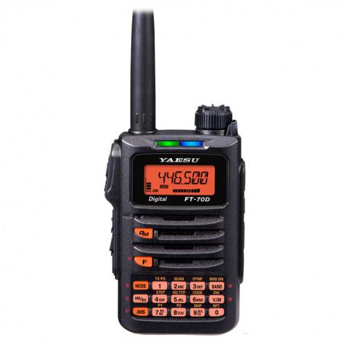 Yaesu FT-70DR Dual Двухдиапазонная радиолюбительская радиостанция