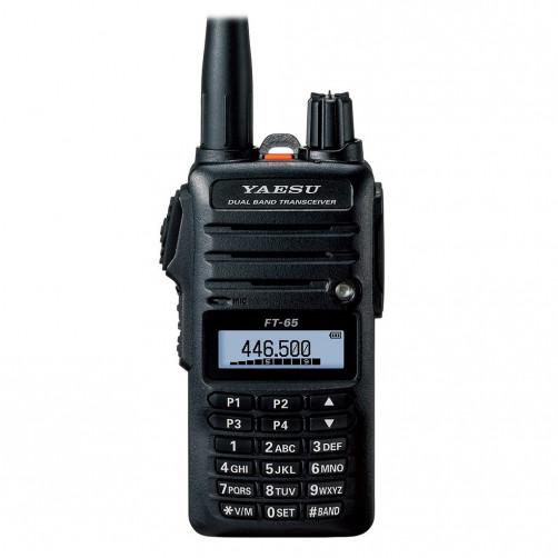 Yaesu FT-65R Dual Радиолюбительская двухдиапазонная радиостанция