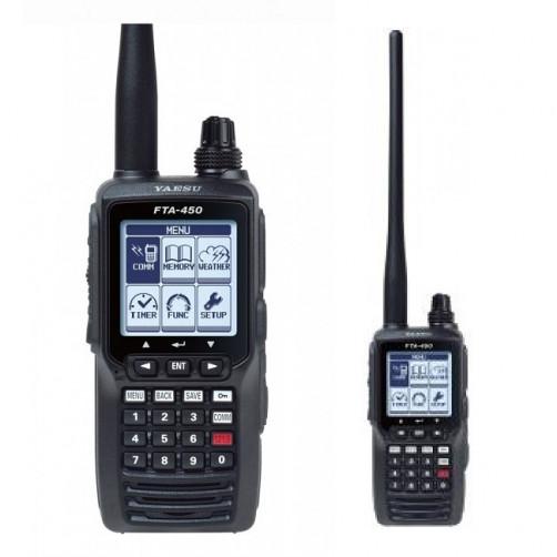 Yaesu FTA-450L Avia Радиостанция авиационного диапазона