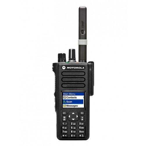 Motorola DP4801E SMA MDH56RDR9RA1AN UHF Цифровая портативная радиостанция
