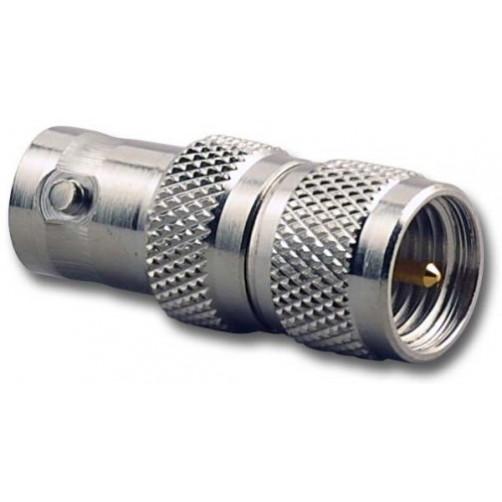 BNC-female / Mini-UHF-male Высокочастотный переходник