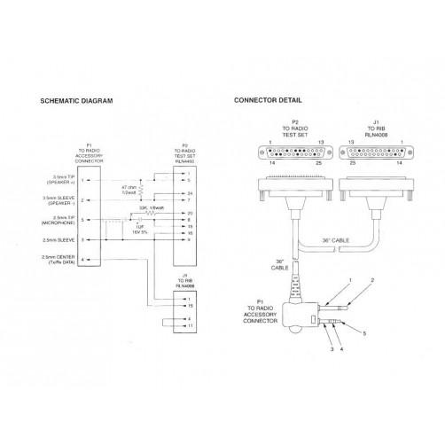 Motorola PMKN4004 Кабель-адаптер для программирования