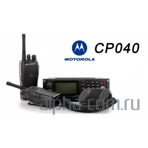 Motorola CP040 VHF1 Радиостанция