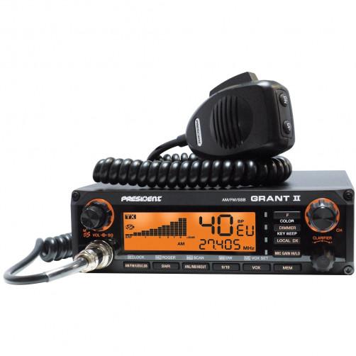 President GRANT II ASC Автомобильная/базовая Си-Би радиостанция