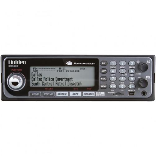Uniden Bearcat BCD536HP Автомобильный сканирующий приемник