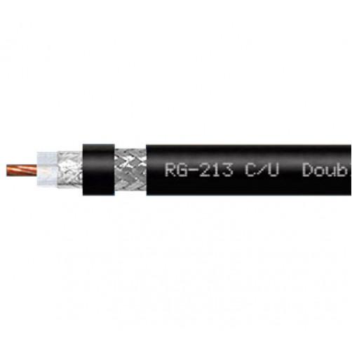 RG-213 C/U BC\TCCA PVC (black) Коаксиальный кабель