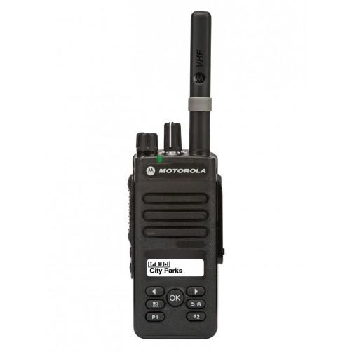 Motorola DP2600E VHF Цифровая портативная радиостанция