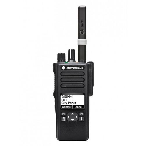Motorola DP4600E MDH56RDQ9VA1AN UHF Цифровая портативная радиостанция