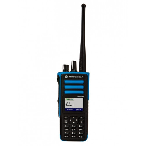 Motorola DP4801Ex MA MDH56QCN9QA5AN ATEX UHF Врывобезопасная цифровая рация