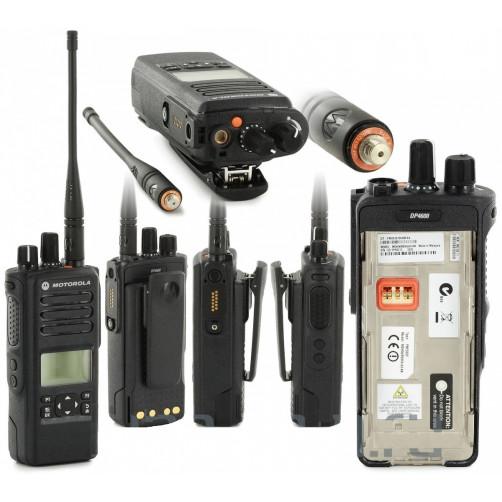 Motorola DP4600 UHF Цифровая портативная радиостанция
