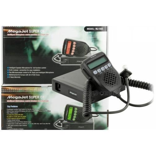 MegaJet MJ-555 Радиостанция автомобильная