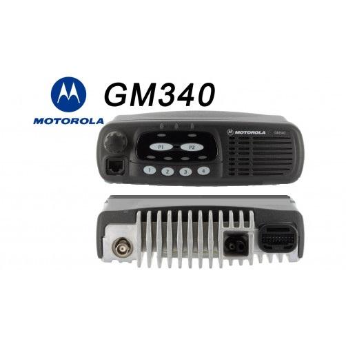 Радиостанция Motorola GM340, версия VHF