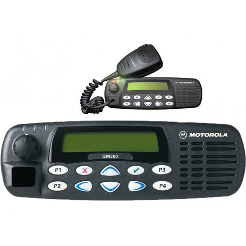 Радиостанция Motorola GM360, версия VHF
