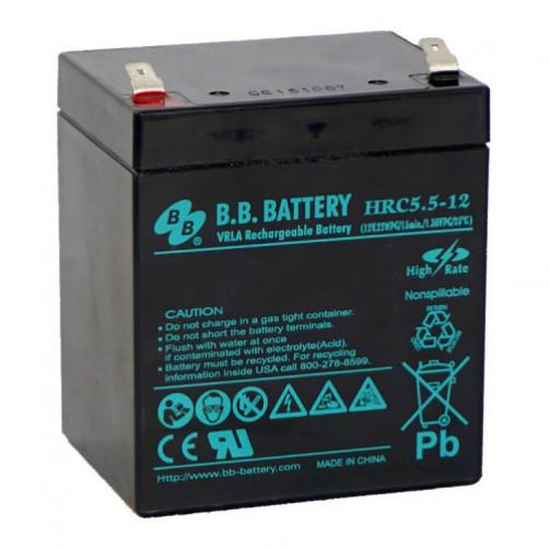 B.B.Battery HRC 5.5-12 Аккумуляторная батарея
