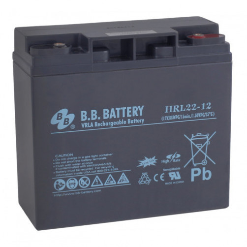 B.B.Battery HRL 22-12 Аккумуляторная батарея