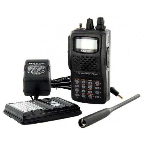 Yaesu FT-60R Радиолюбительская двухдиапазонная рация