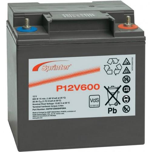 Sprinter P12V600 аккумуляторная батарея
